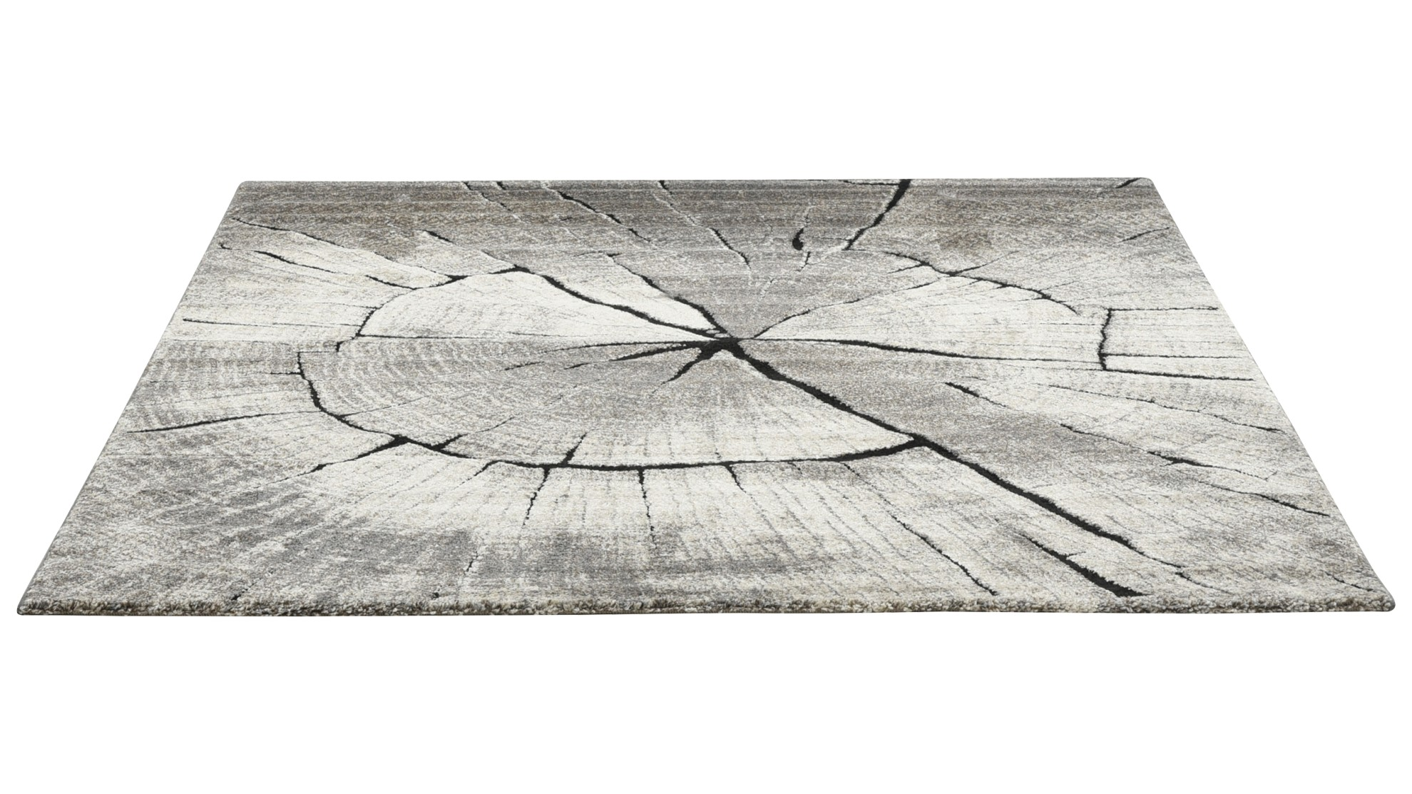 TIMBER matto, 160 x 230 cm (harmaaruskea)