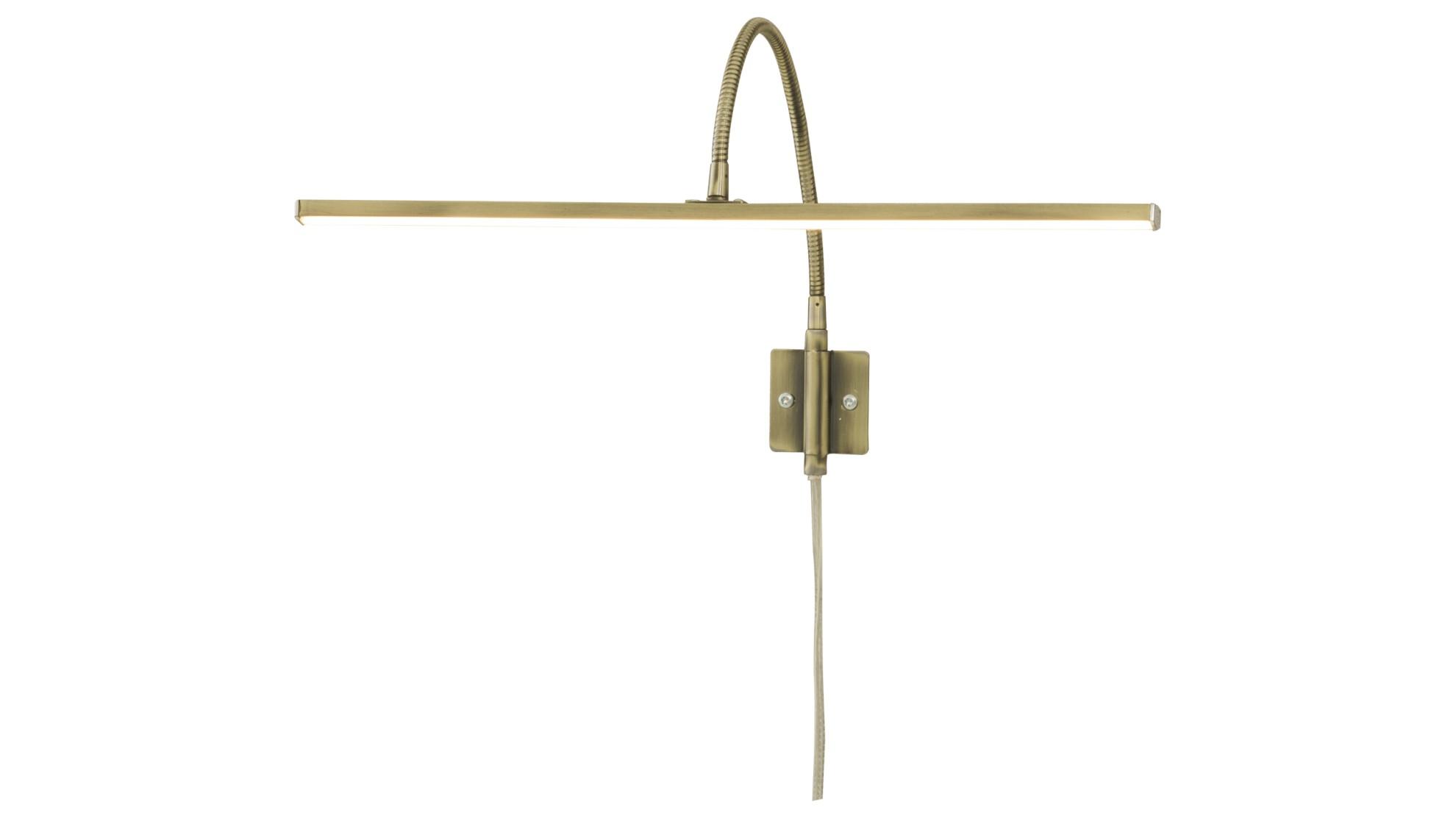 LED-Peilivalaisin, 60cm, 9.6W, 600lm, kromi