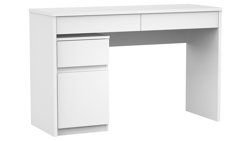 COMBO-työpöytä laatikoilla ja COMBO-lipasto