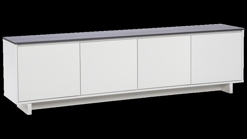 FIINI tv-taso levyovet valkoinen/antrasiitti