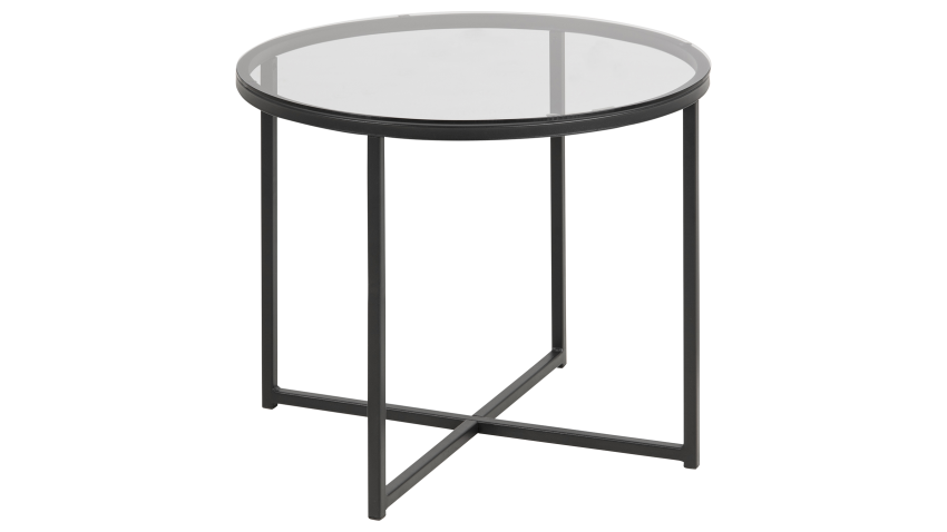 CROSS-sohvapöytä pyöreä