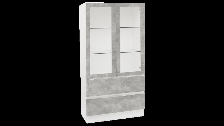 TEEMA osa 29 vitriini sokkeli betoni