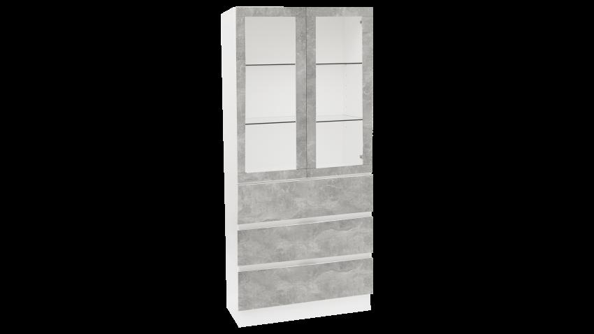TEEMA vitriini sokkeli betoni