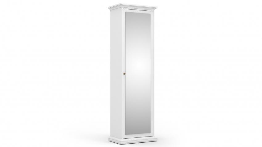 PARIS 1-ovikomero peilillä valkoinen