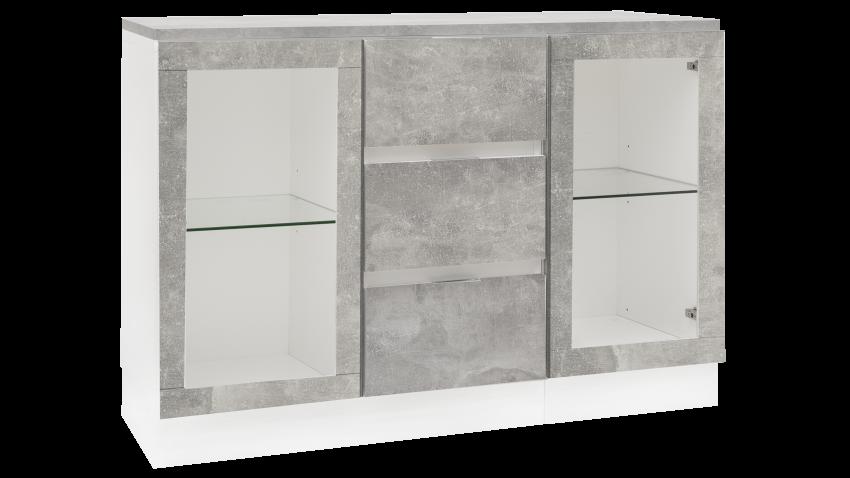 TEEMA-ryhmä 2 valkoinen/betoni