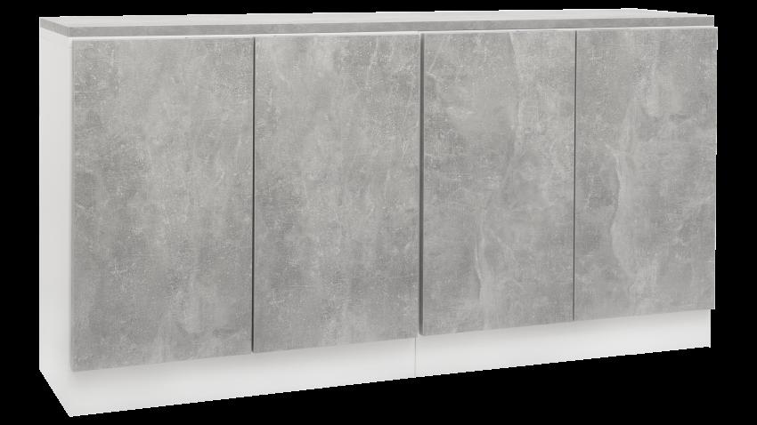 TEEMA-ryhmä valkoinen/betoni
