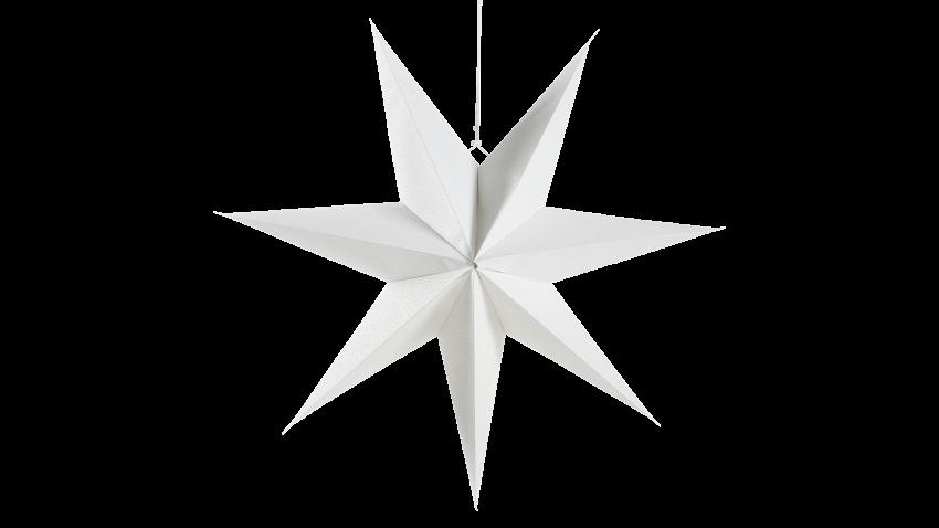PAPERITÄHTI-valkoinen 75 cm