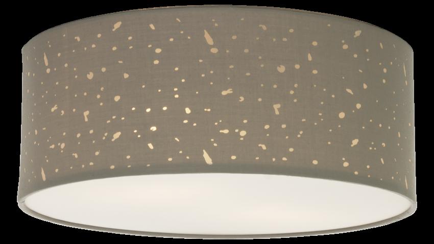Aneta STARRY 38-plafondi harmaa