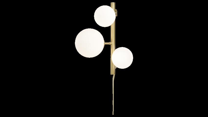 Scan Lamps MOLEKYL-seinävalaisin valkoinen