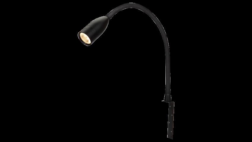 SCAN Lamps SENSILO LED-sängynpäätyvalo musta