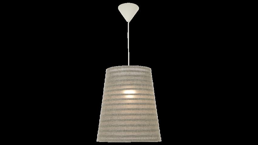 Scan Lamps FUSSILI-kattovalaisin harmaa