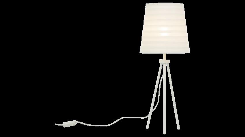 Scan Lamps FUSSILI-pöytävalaisin valkoinen