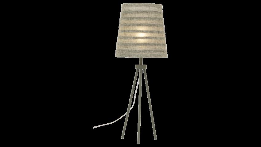 Scan Lamps FUSSILI-pöytävalaisin harmaa