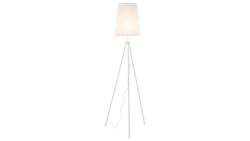 Scan Lamps FUSSILI-lattiavalaisin valkoinen