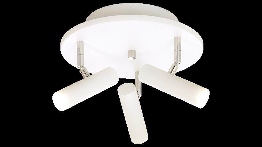 Scan Lamps ARTIC-spotti 3os pyöreä LED valkoinen