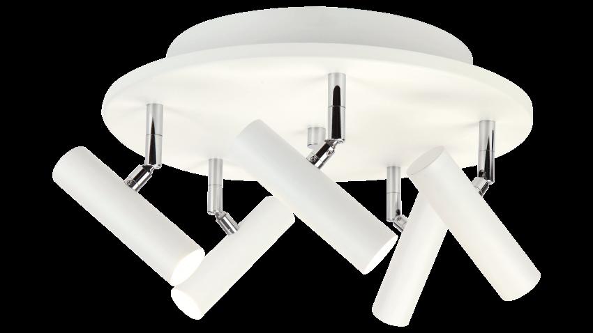 Scan Lamps ARTIC-spotti 5os pyöreä LED valkoinen