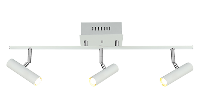 Scan Lamps ARTIC-spotti 3os suora LED valkoinen