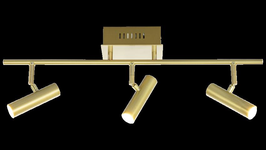 Scan Lamps ARTIC-spotti 3os suora LED messinki