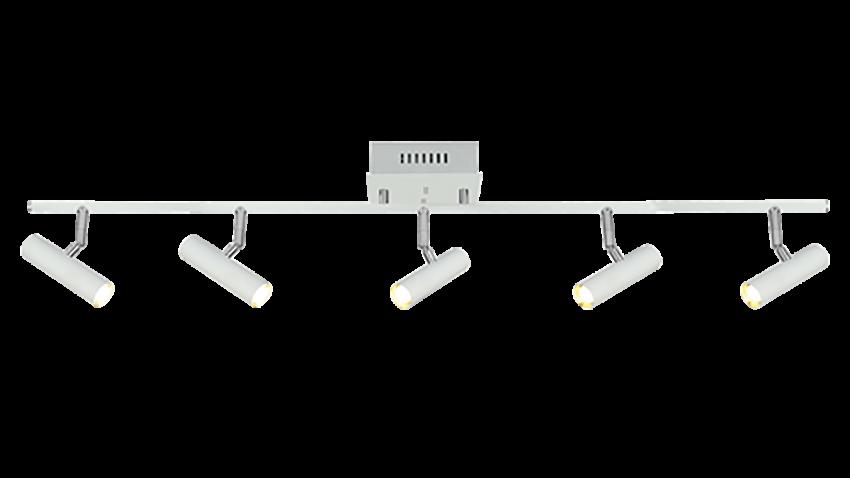 Scan Lamps ARTIC-spotti 5os suora LED valkoinen
