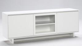 FIINI tv-taso 163 levy/lasi valkoinen