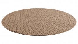 FANNI-matto, 133 x 133 cm (ruskea)