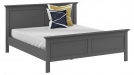 PARIS-sänky 160x200 cm, harmaa