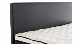 TINO-sängynpääty, 140 cm (musta)
