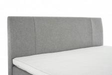 ISABELLA-sängynpääty, 180 cm (vaaleanharmaa)