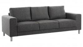 GAMMA-sohva, Surprise-kangas (musta/harmaa)