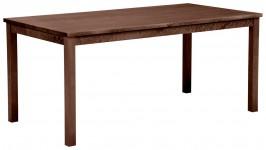 KIWANO-ruokapöytä, 170 cm (tumma pähkinä)