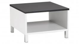 MONACO-sohvapöytä 60 (valkoinen/musta)
