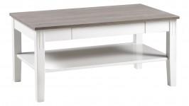 HUVILA-sohvapöytä 100cm (harmaa/valkoinen)