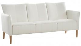 NEVE-sohva, Nahka/keinonahka (valkoinen)