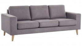 STELLA-sohva, Zero-kangas (harmaa/ruskea)
