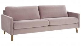 SOLA XL-sohva, Bellagio-kangas, hintaryhmä 5 (vaalearoosa)