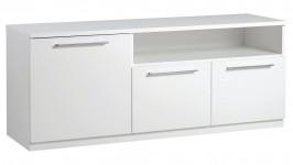 MONACO tv-taso, 143 cm (valkoinen)