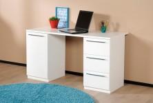MONACO-työpöytä 135 (valkoinen)